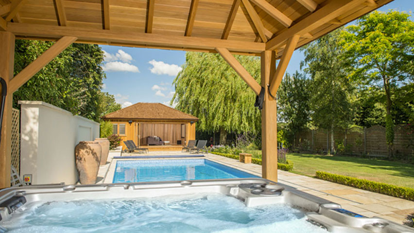 The finest pool houses available by Crown Pavilions