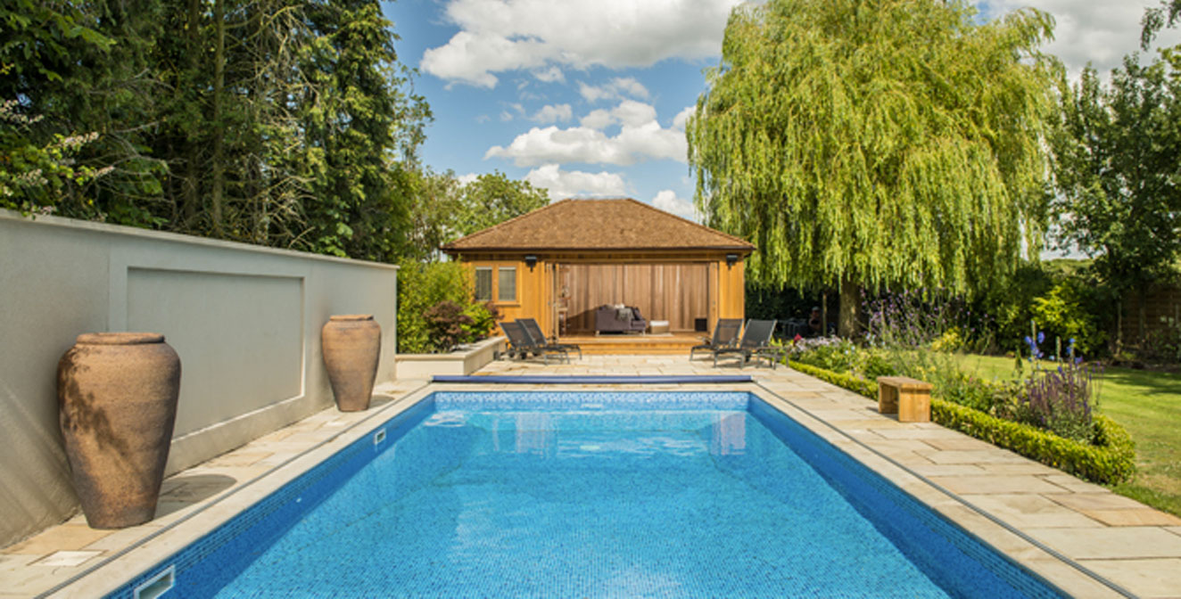 Pool Houses from Crown Pavilions